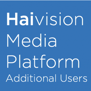 HAIVISION Add 2,500 users/devices to any HMP system