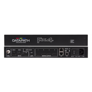 DATAPATH FX4 Display Port - 4K Multiwall Processor w/ HDCP