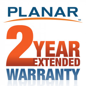 PLANAR Extends standard 3year warranty to a total of 5 ye