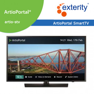 EXTERITY ArtioPortal SmartTV client license Qty 1 to 99