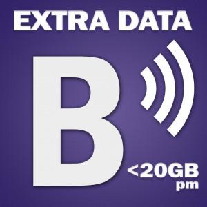 BRIGHTSIGN Additional Data Per account <20GB pm
