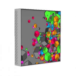 PLANAR Mosaic Salvador video tile 216inch diagonal square