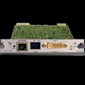 HAIVISION Makito Encoder Blade HDSD H264 IP Video Encoder