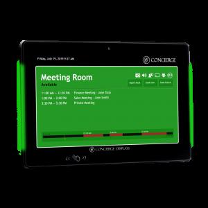 CONCIERGE Concierge Room Booking Display with RFID & NFC