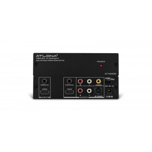 ATLONA HDMIDVI to Composite and SVideo Down Converter