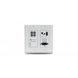 ATLONA 2 Input Wall Plate Switcher for HDMI and VGA Sources