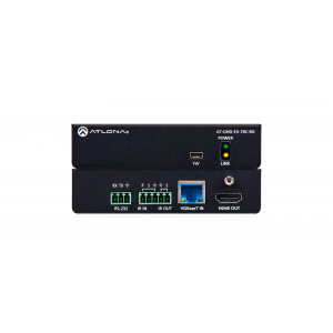 ATLONA 4K/UHD HDMI Over HDBaseT Receiver w/Control&PoE