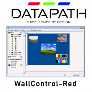 DATAPATH WALLCONTROL-RED Wall Processing Software No SQX IP