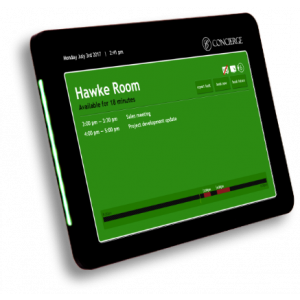 CONCIERGE 10.1  Room Activity Display Touch-Screen